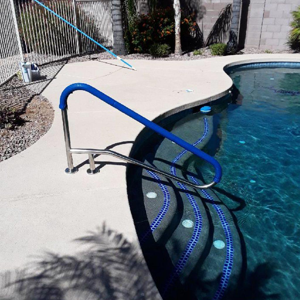 Pool Railing Install